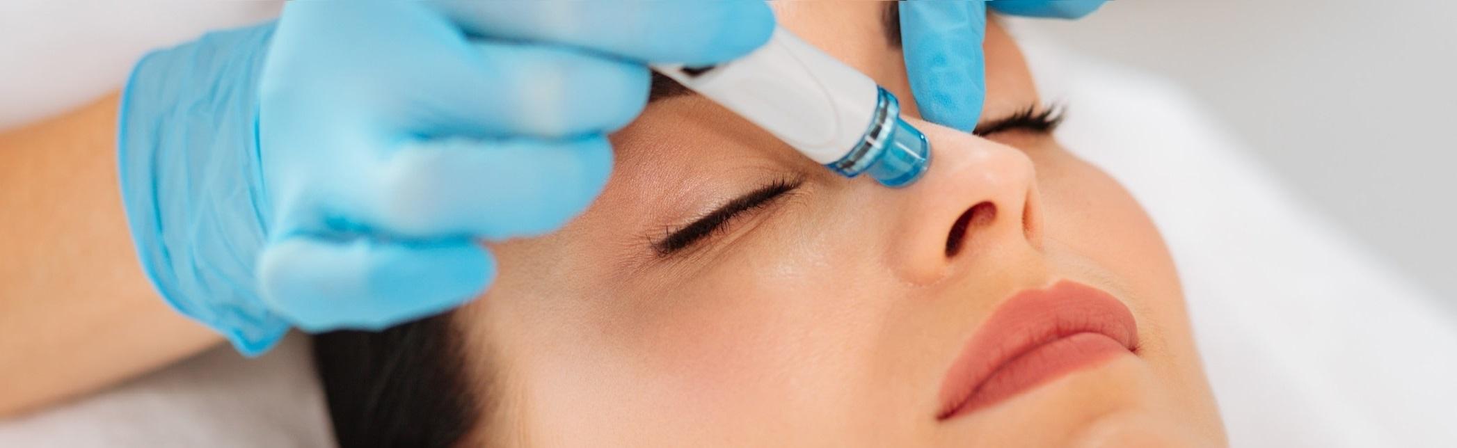 hydrafacial treatment and training